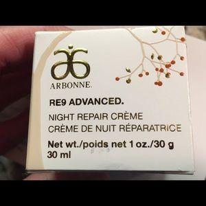 Arbonne RE9 Advanced Night Repair Crème 1oz